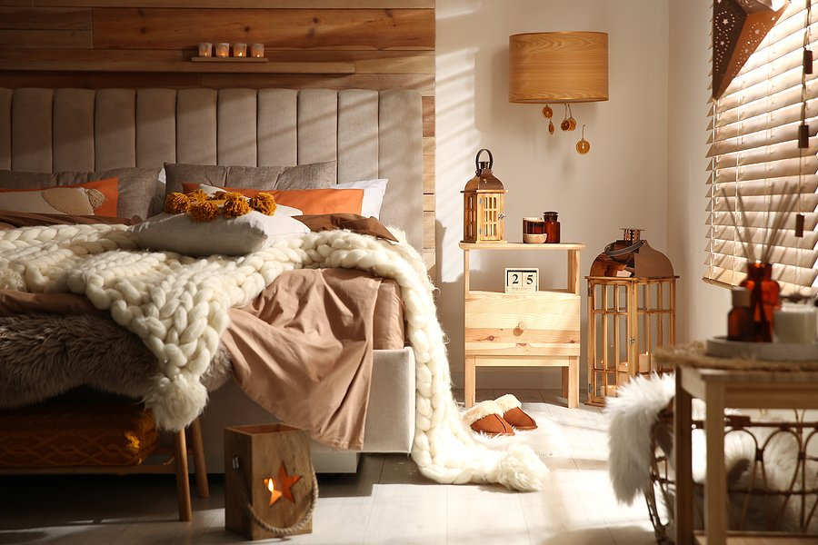 Where To Put Your Bedroom Cushions At Night